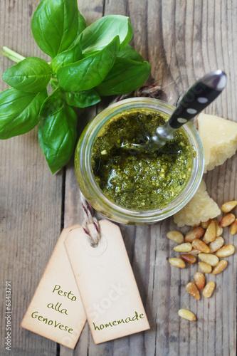 Homemade Pesto alla Genovese