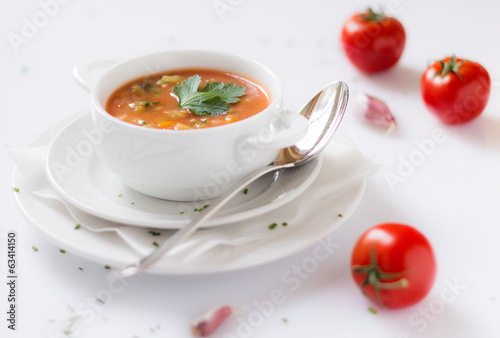 canvas print picture Minestrone
