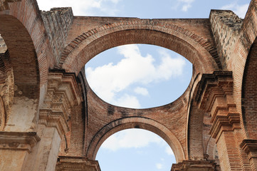 Ruins of the cathedral at Antigua