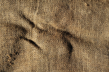 old burlap fabric