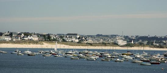 la plage, Audierne, région Bretagne, 29