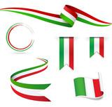 Fototapety Bandiera Italiana