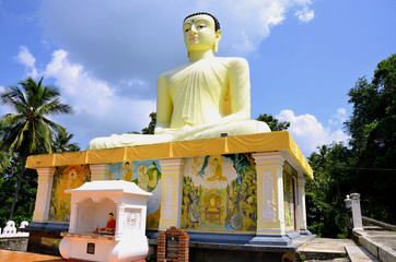 Statue of Buddha in  Sri Lanka