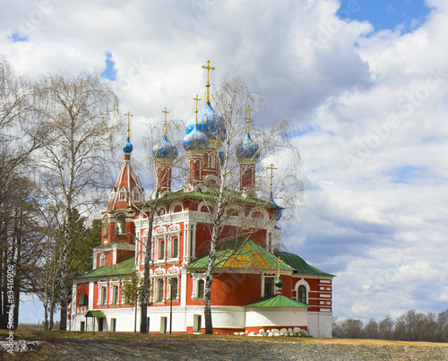 Orthodox church, Uglich, Russia