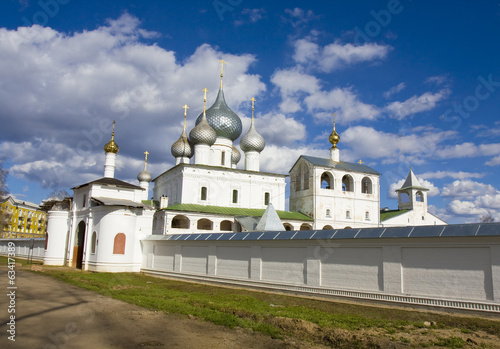 Resurrection monastery in Uglich, Russia