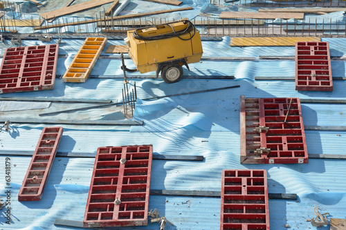 Construction Site Composition