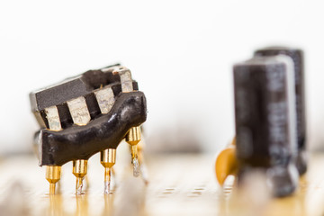 Electronic Parts – Operational Amplifier - Destroyed