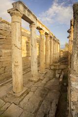 Pamukkale, Hierapolis, Turkey