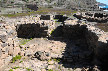 Archeology Site in Canary Islands