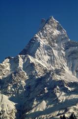 Mt. Machapuchare in Annapurna Range, Nepal.