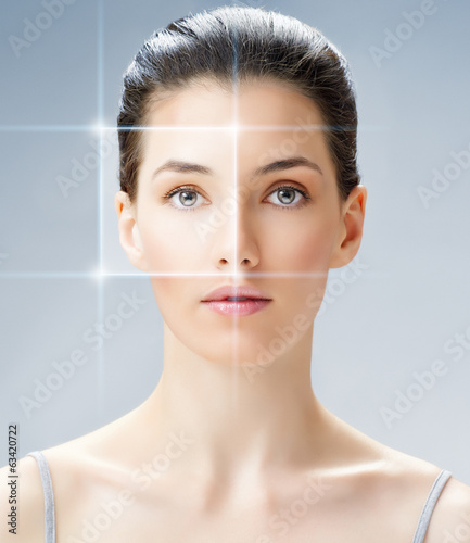 canvas print picture beauty woman