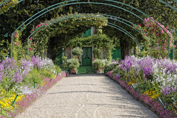 Jardin et maison de Claude Monet à Giverny (France)
