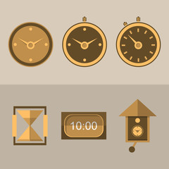 Icons for clocks