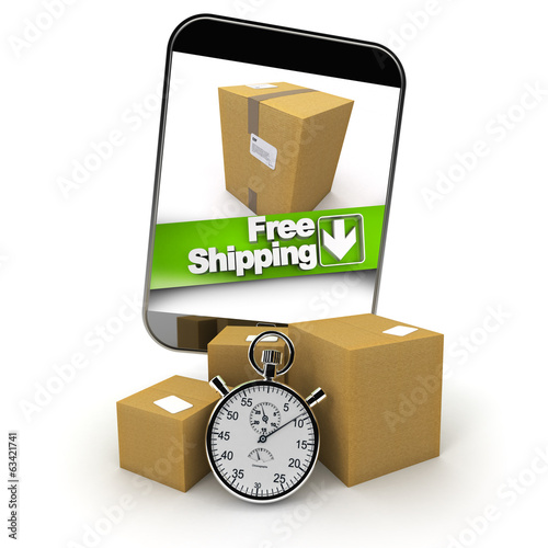 purchase from smartphone with free shipping