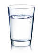 Glass with water isolated. Vector illustration - 63422321
