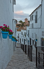 Mijas At Dusk