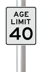 Age Limit at 40