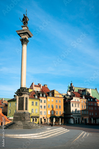 Warsaw - Castle Square and Sigismund's Column