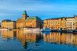 canvas print picture - Stockholm view