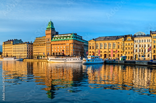 canvas print picture Stockholm view