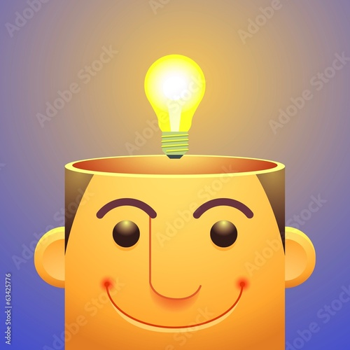 good ideas,Light Bulb Over head
