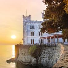 Château de Miramare, Trieste, Italie, Europe.