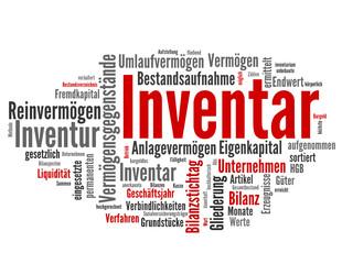 Inventar (Inventur, Jahresabschluss, Bilanz)
