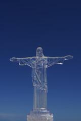 Rio Christ the Redeemer Souvenir Blue Sky