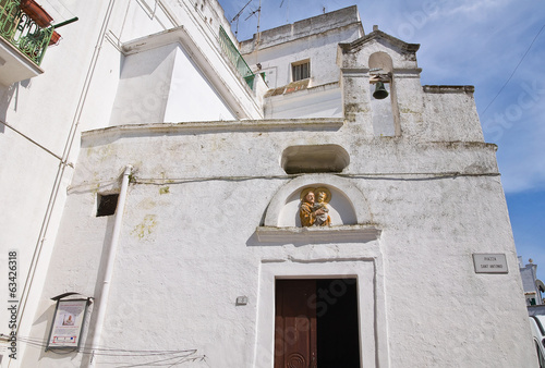 Church of St. Antonio. Ginosa. Puglia. Italy.