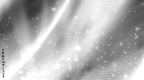 Black and White Soft Flow Looping Animated Background