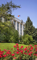 Kishinev (Chișinău). Moldovan government building. Moldova