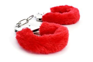 sexy fluffy handcuffs