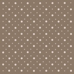 Abstract geometric polka dot background