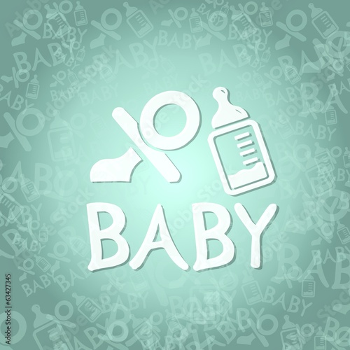 baby sign background