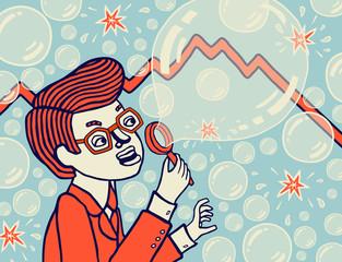 Экономический пузырь. Мыльный пузырь в экономике
