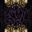Elegant floral design. Seamless background