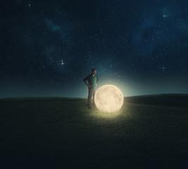 Fallen moon.