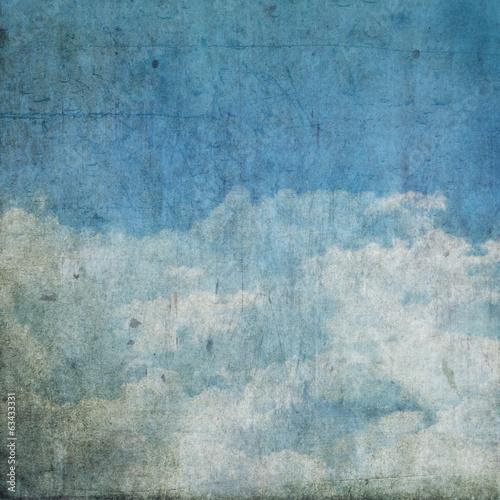 Fototapeta Grunge clouds background