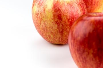 Pefekter saftiger Apfel