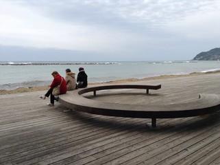 Sitzbank am Meer