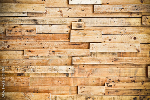 wood plank texture with natural patterns / teak plank n