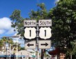 north south left right street signs