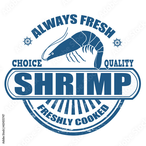 Shrimp stamp