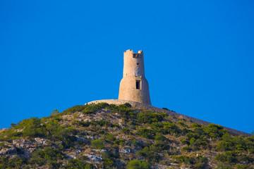 Denia Torre del Gerro tower Mediterranean Alicante