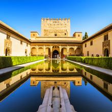 Cour des Myrtes (Patio de los Arrayanes) à La Alhambra