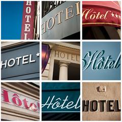 composition Hôtels