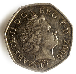 Fifty pence