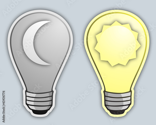 Day and night bulb