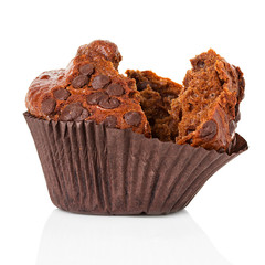 muffin, cupcake isolated
