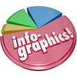Infographics Pie Chart Graph 3D Data Illustration